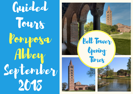 Guided Tours at Pomposa Abbey September 2018