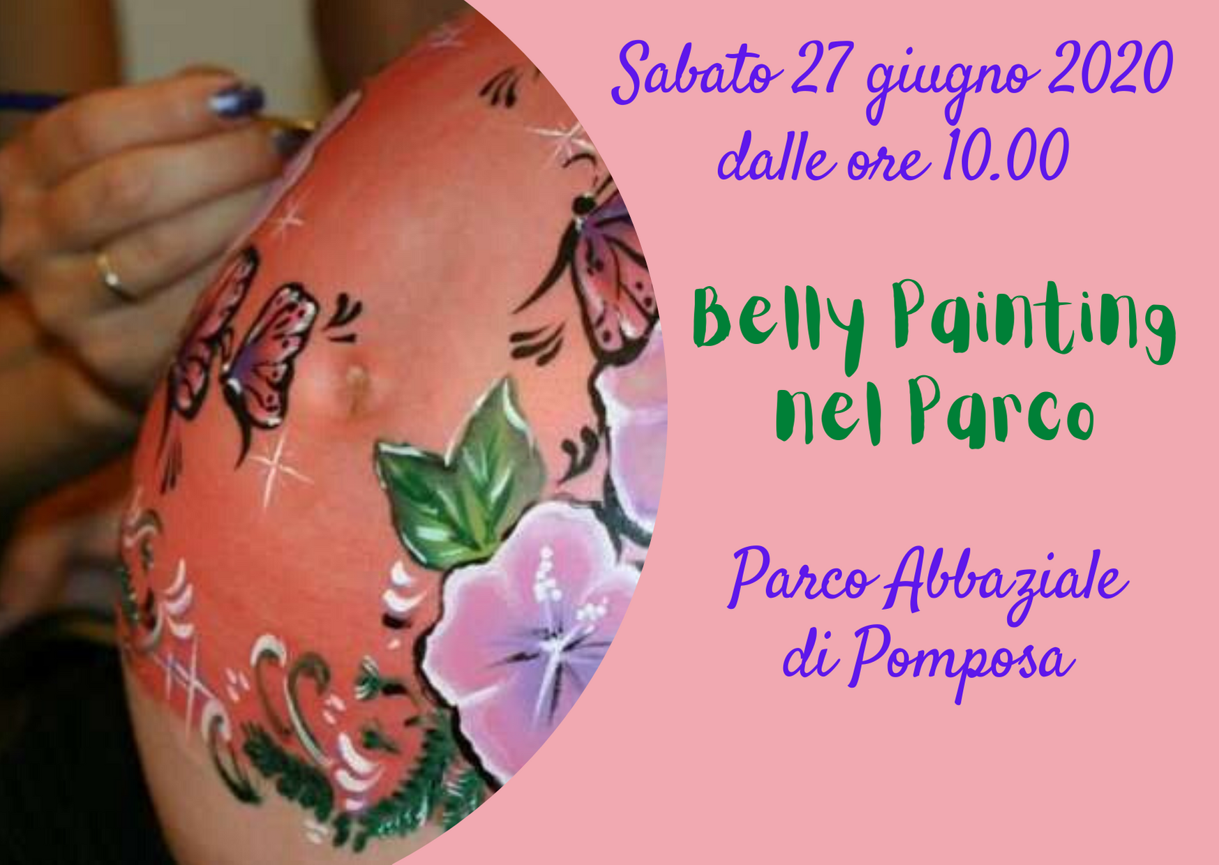 Belly Painting nel Parco